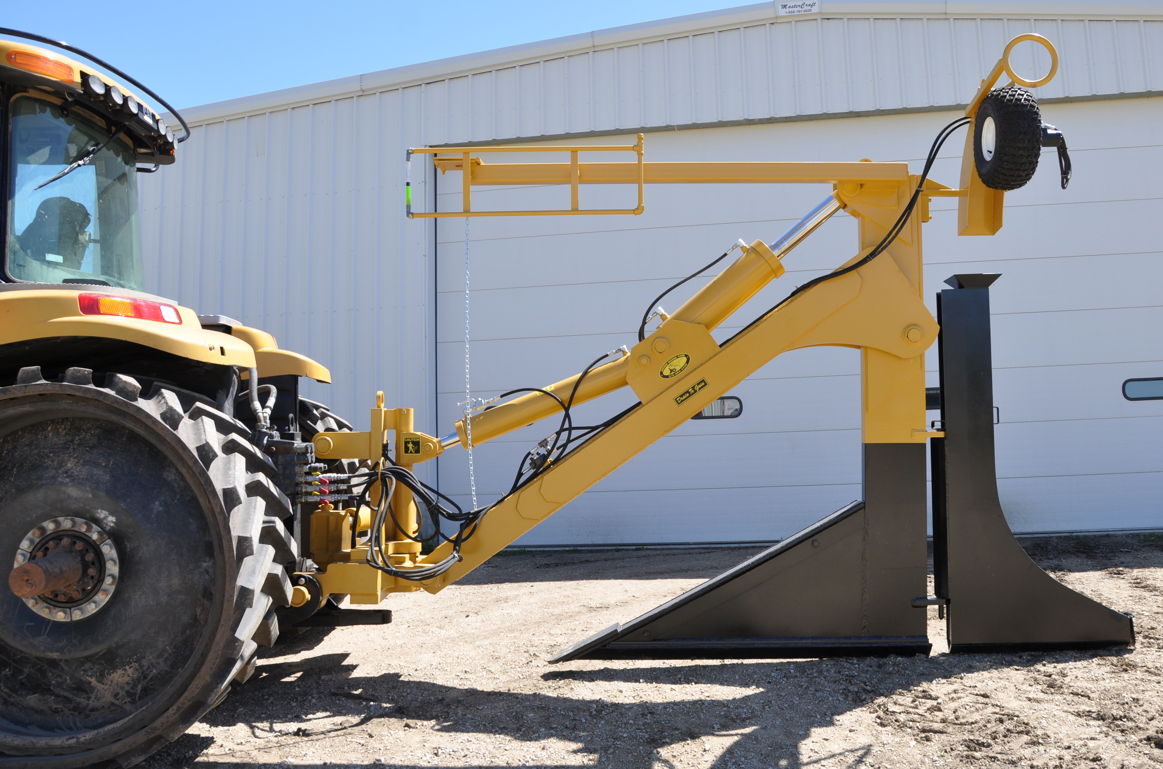 Frame Mounted Plows